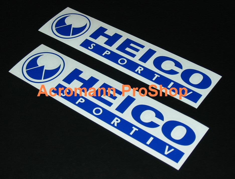 HEICO 6inch Decal (Style#1) x 2 pcs