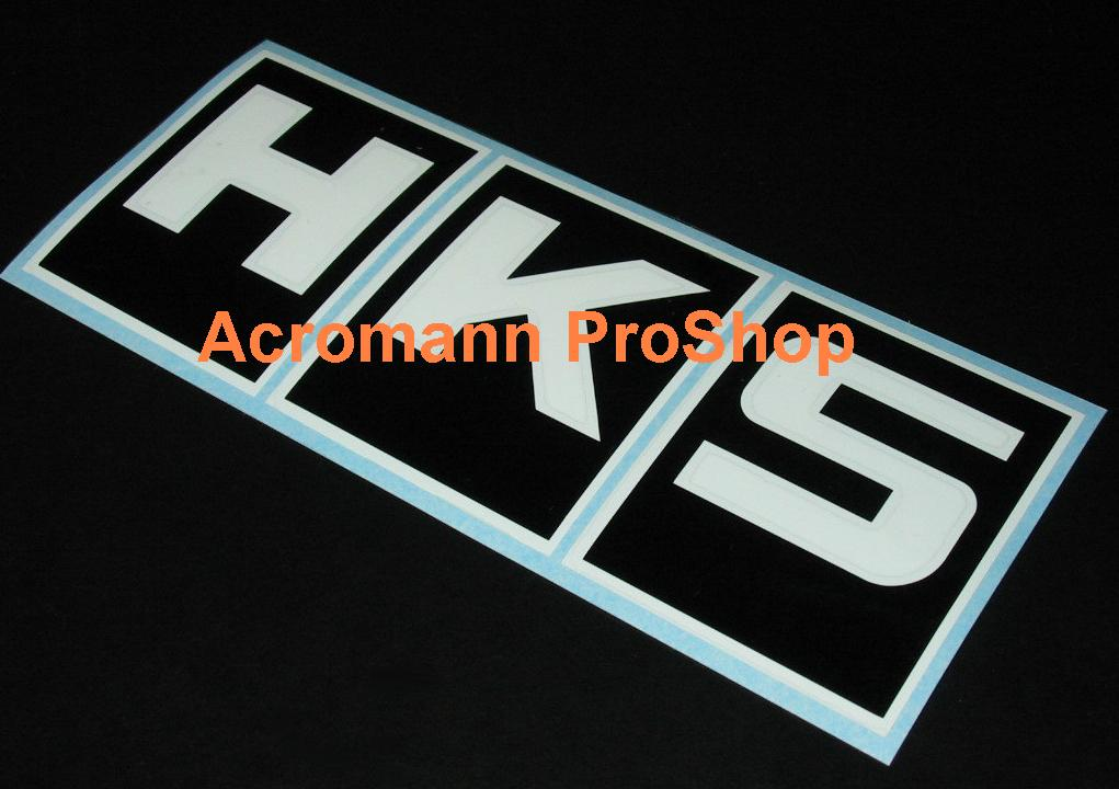 HKS 6inch Decal (Style#1) x 2 pcs
