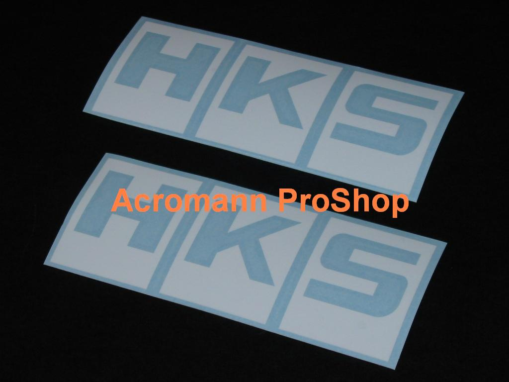 HKS 6inch Decal (Style#2) x 2 pcs