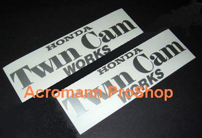 Twin Cam (FEEL'S) 6inch Decal x 2 pcs