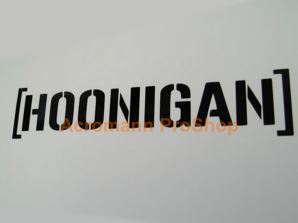 Hoonigan 6inch Decal (Style#1) x 2 pcs