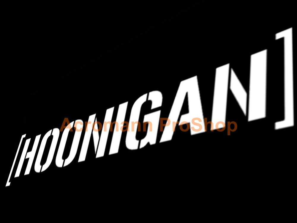Hoonigan Windshield Decal (Style#2)