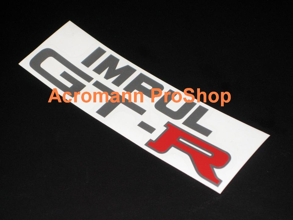 IMPUL GT-R (GTR) 6inch Decal x 2 pcs