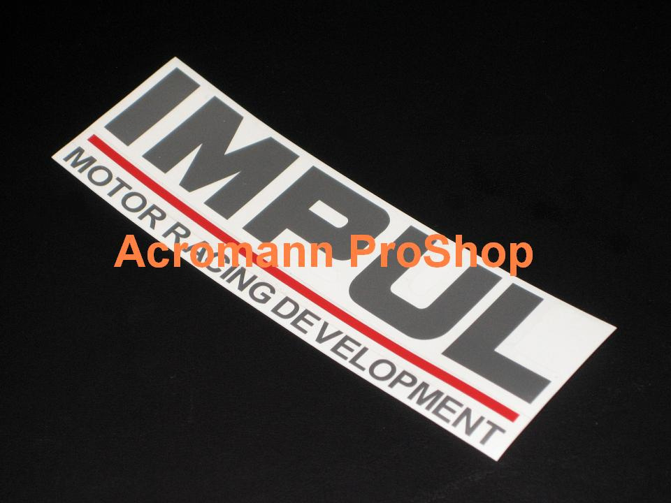 IMPUL Motor Racing Development 6inch Decal x 2 pcs
