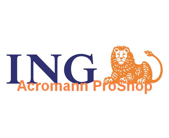 ING 8.5inch Decal x 2 pcs