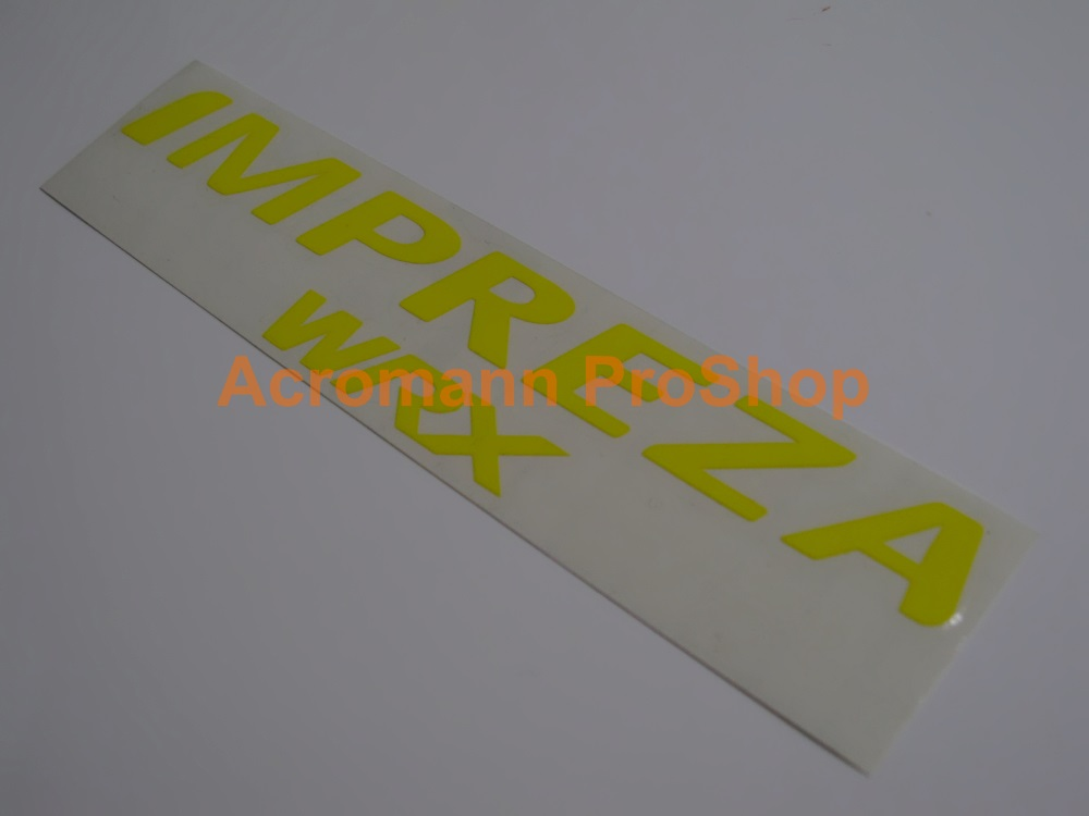 IMPREZA WRX 6inch Decal x 2 pcs