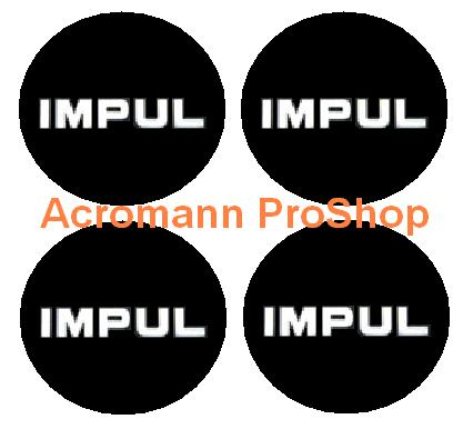 IMPUL 2.2inch Wheel Cap Decal x 4 pcs
