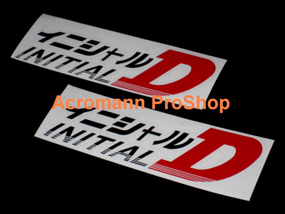 Initial D 6inch Decal (Style#5) x 2 pcs