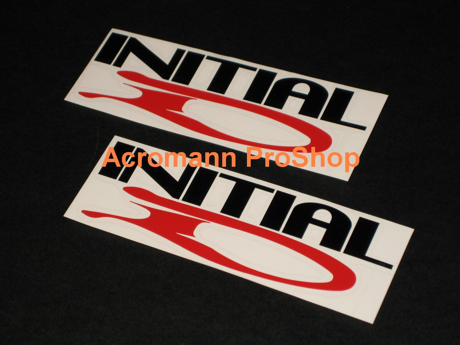 Initial D 6inch Decal (Style#2) x 2 pcs