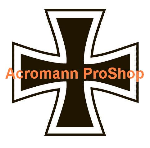 Iron Cross 6inch Decal x 2 pcs