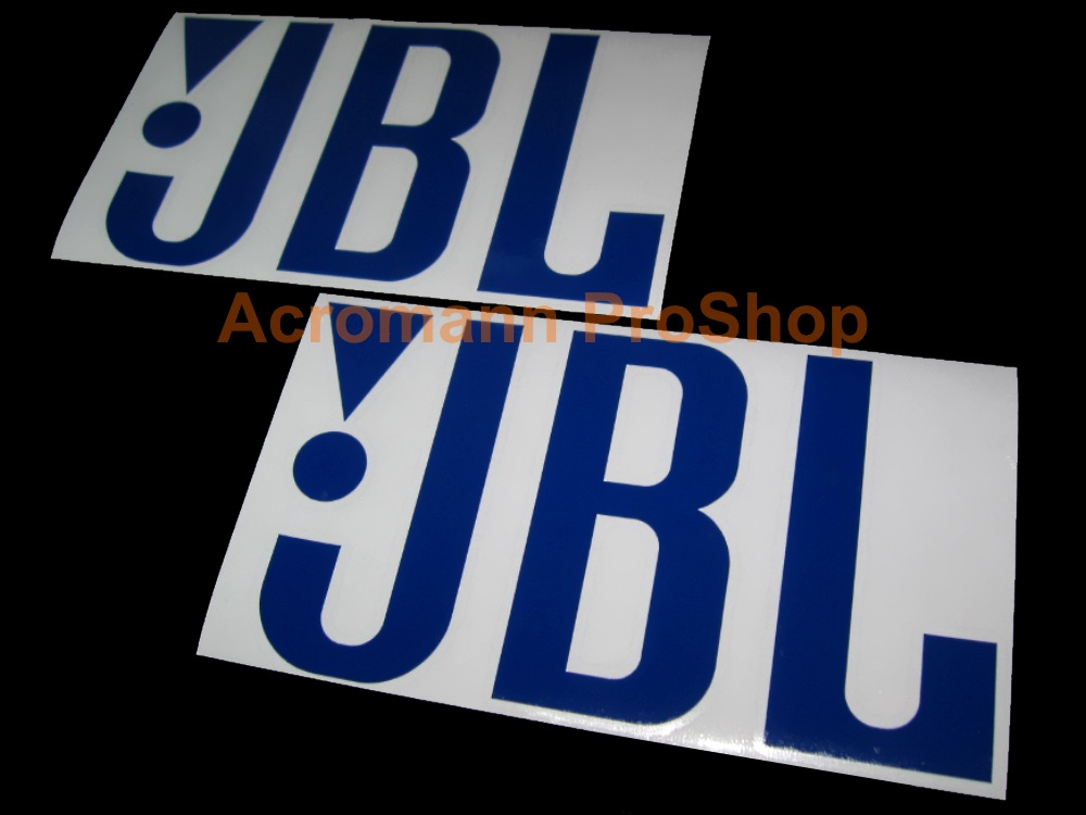 JBL 6inch Decal (Style#1) x 2 pcs