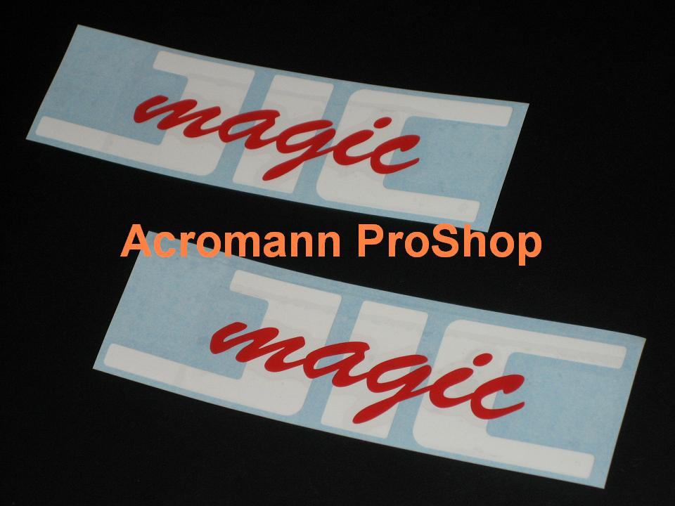 JIC magic 6inch Decal (Style#1) x 2 pcs
