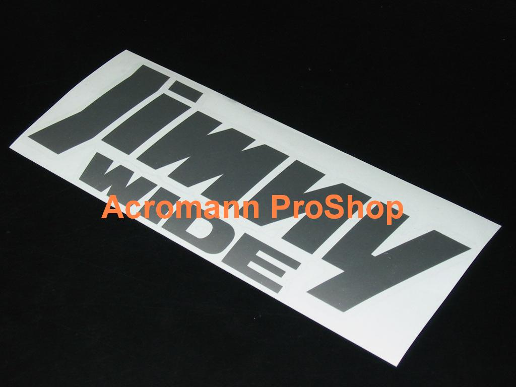JIMNY Wide 6inch Decal x 2 pcs