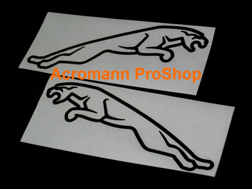 Jaguar Leaper 4inch Brake Caliper Decal x 1 pair