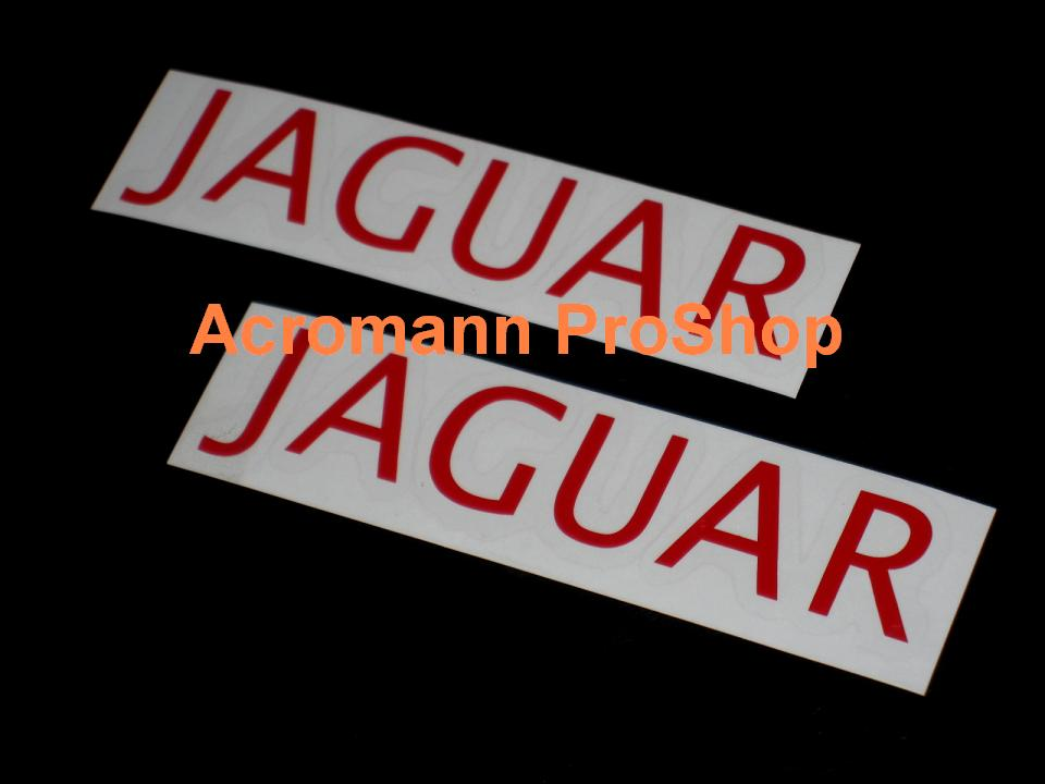 Jaguar 6inch Decal (Style#2) x 2 pcs