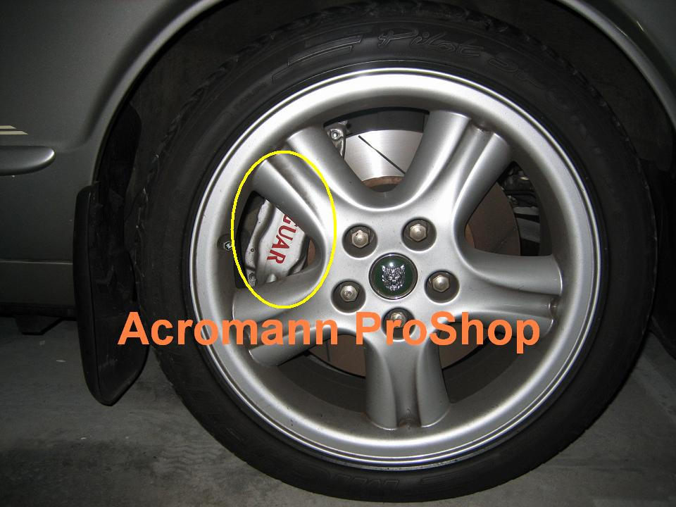 Acromann Online Shop - Bmw brake caliper decals