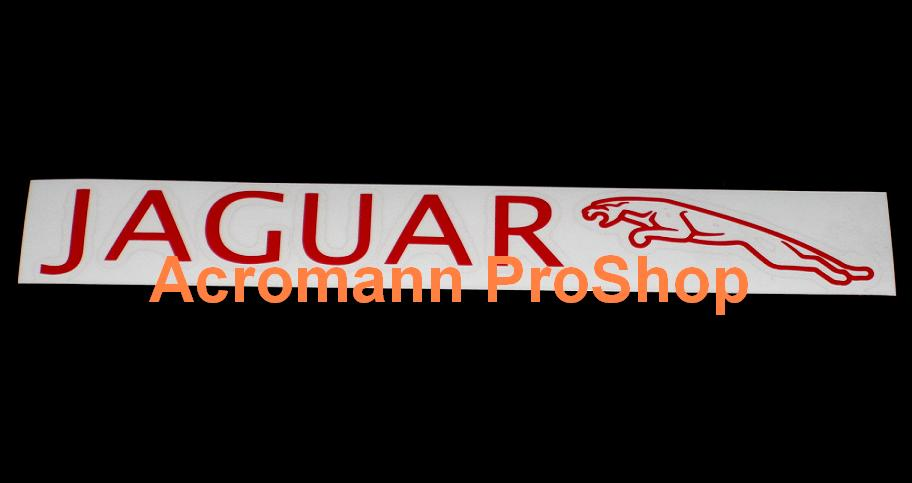 Jaguar Windshield Decal (Style#1)