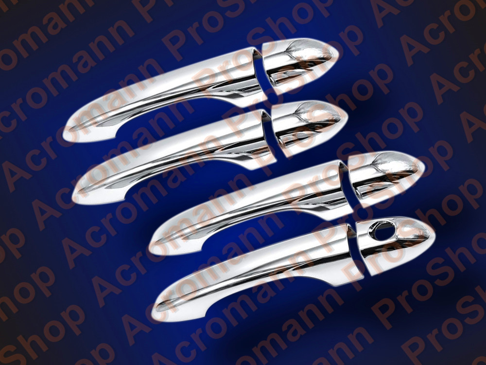 Chrome Door Handle Cover for Jeep CHEROKEE *NO SMART KEYHOLES*