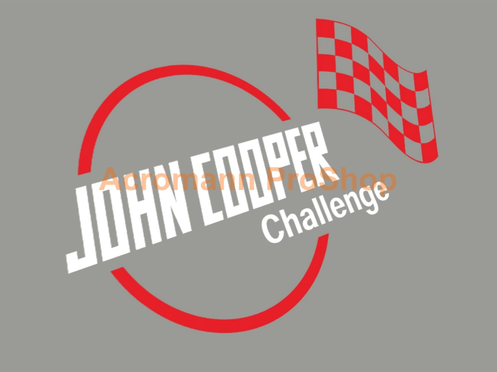 John Cooper Challenge 6inch Decal (Style#2) x 2 pcs