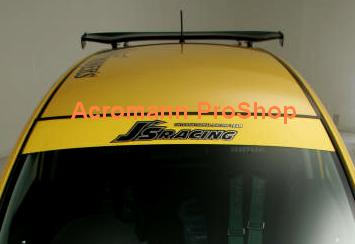 J's Racing Windshield Decal (Style#2)
