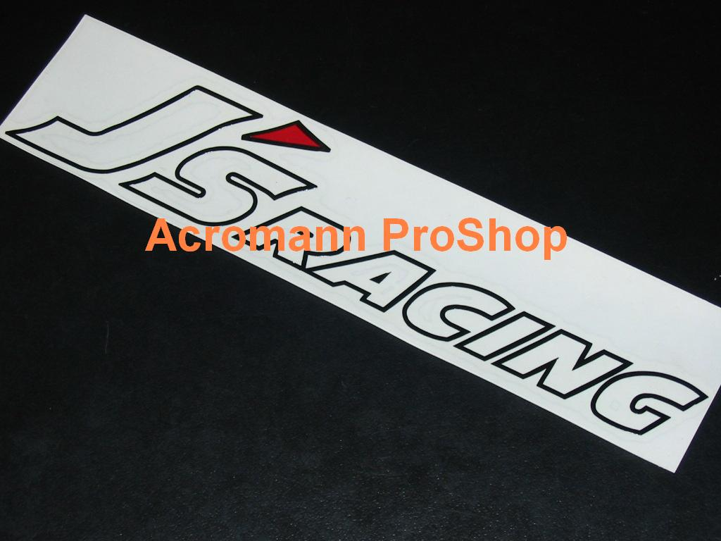 J's Racing 6inch Decal (Style#1) x 2 pcs