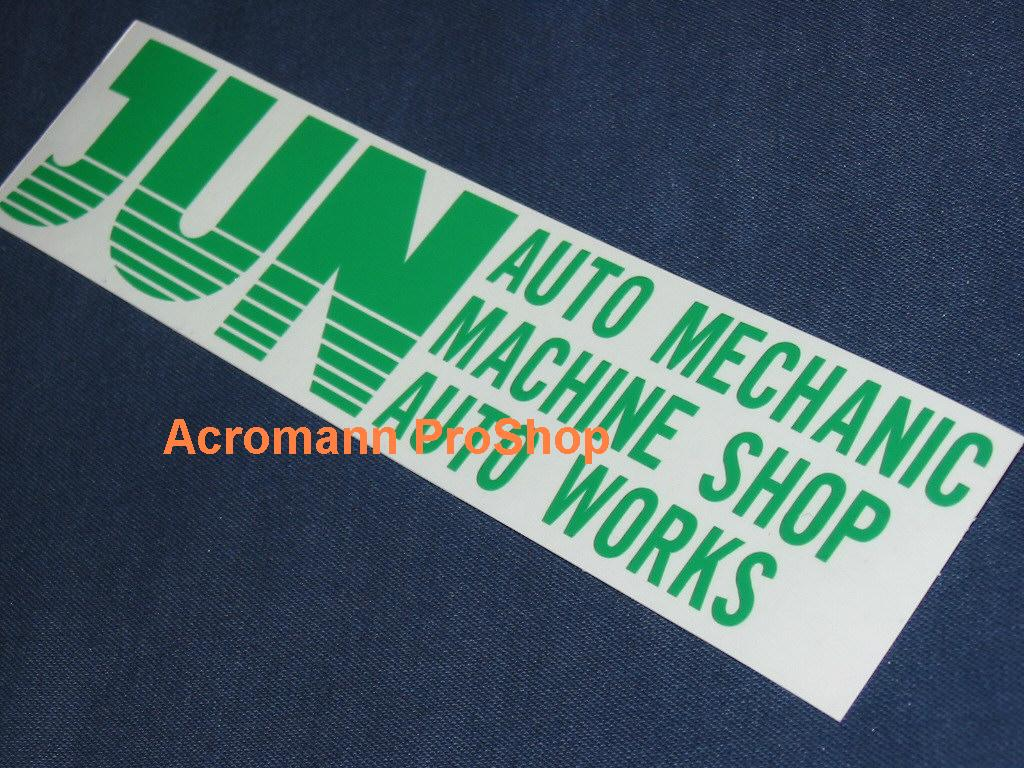 JUN 6inch Decal (Style#1) x 2 pcs