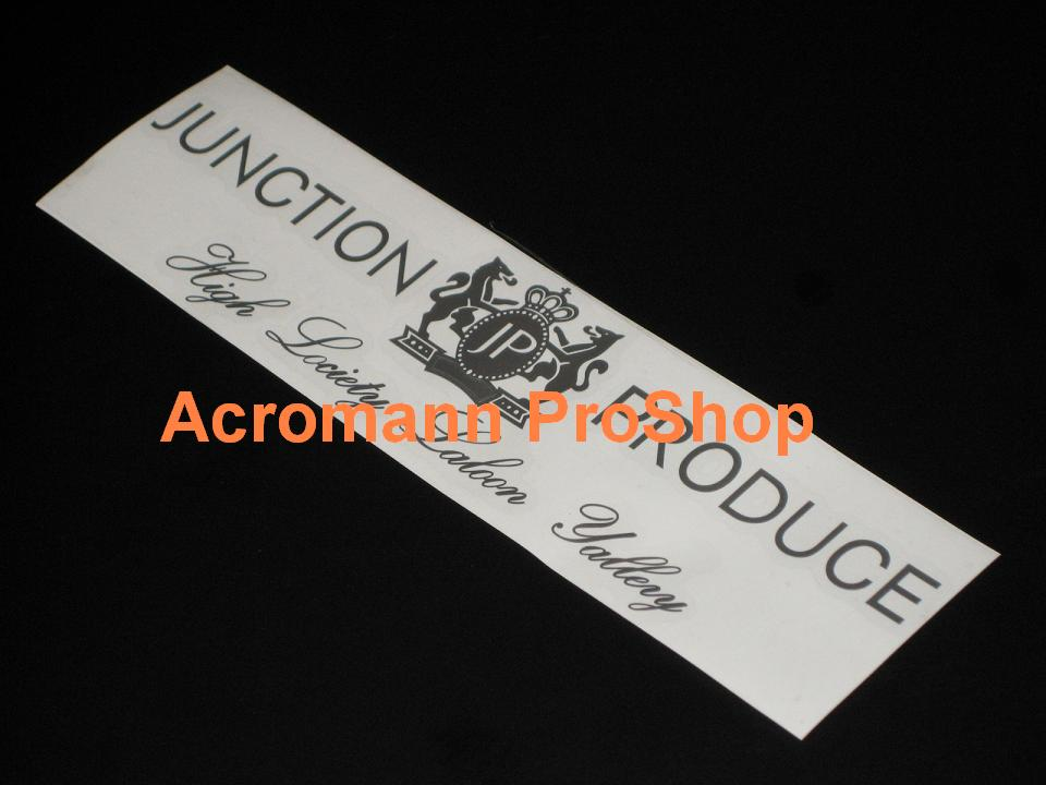 Junction Produce 9inch Decal x 2 pcs