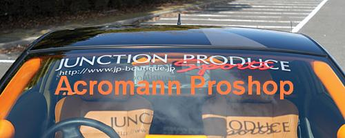 Junction Produce Sports Windshield Decal