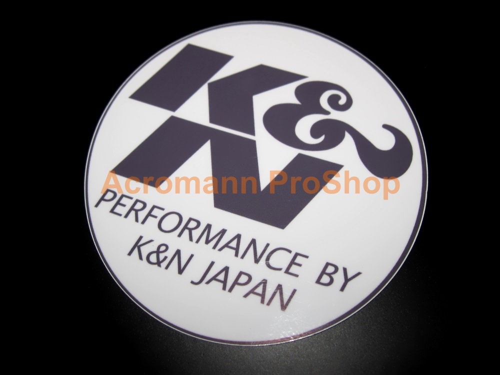 K&N Japan 4inch Decal (Style#2) x 2 pcs