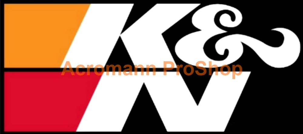 K&N 6inch Decal (Style#8) x 2 pcs