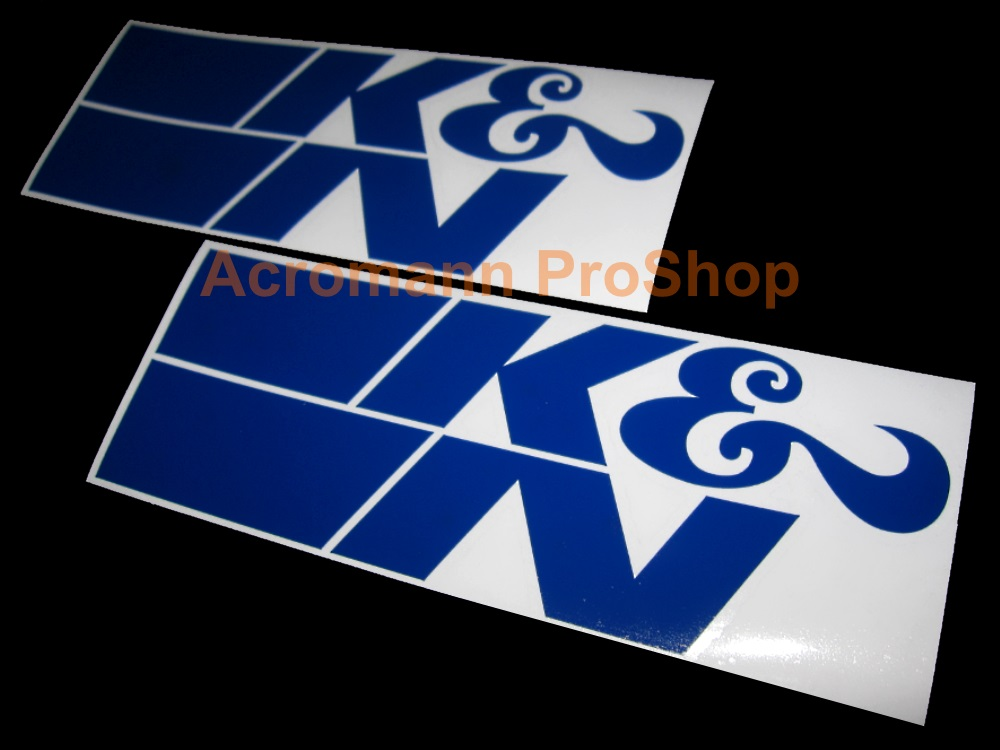 K&N 6inch Decal (Style#11) x 2 pcs