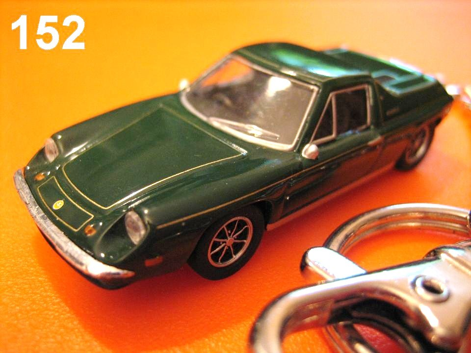 Classic Lotus Europa (British Racing Green) Die-cast Key Chain