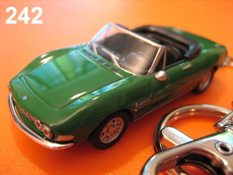 Fiat Dino Spider (Green) Die-cast Key Chain