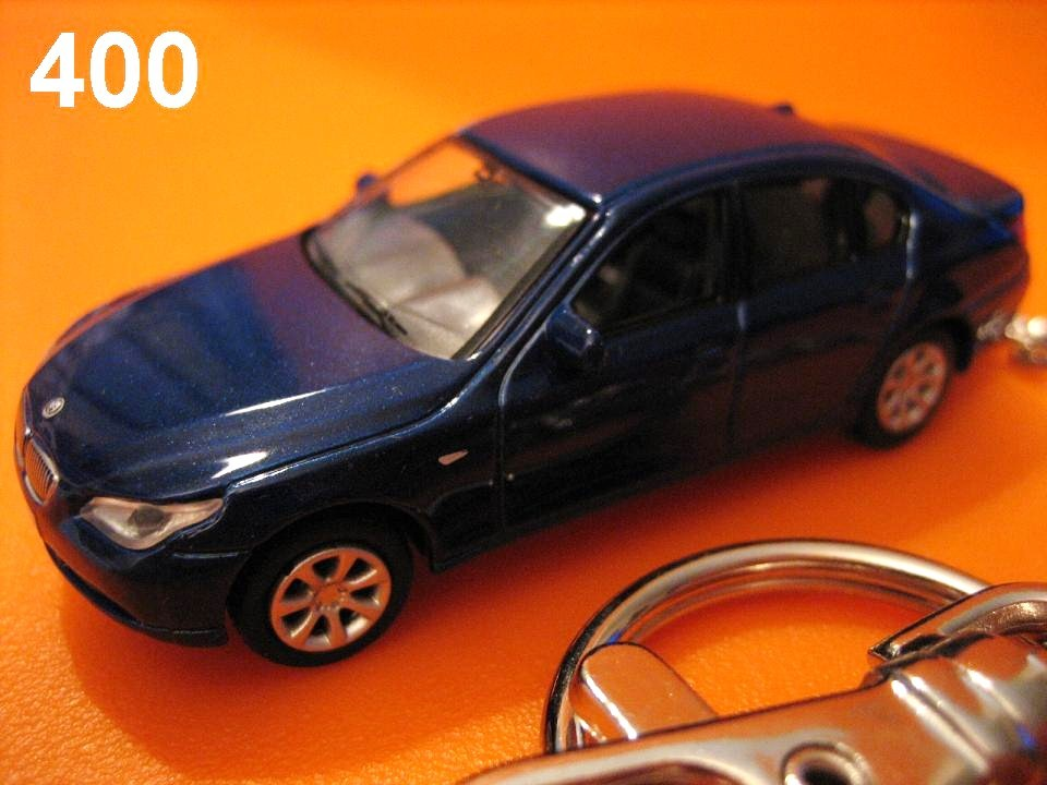 BMW E60 5 series (Deep Metallic Blue) Die-cast Key Chain