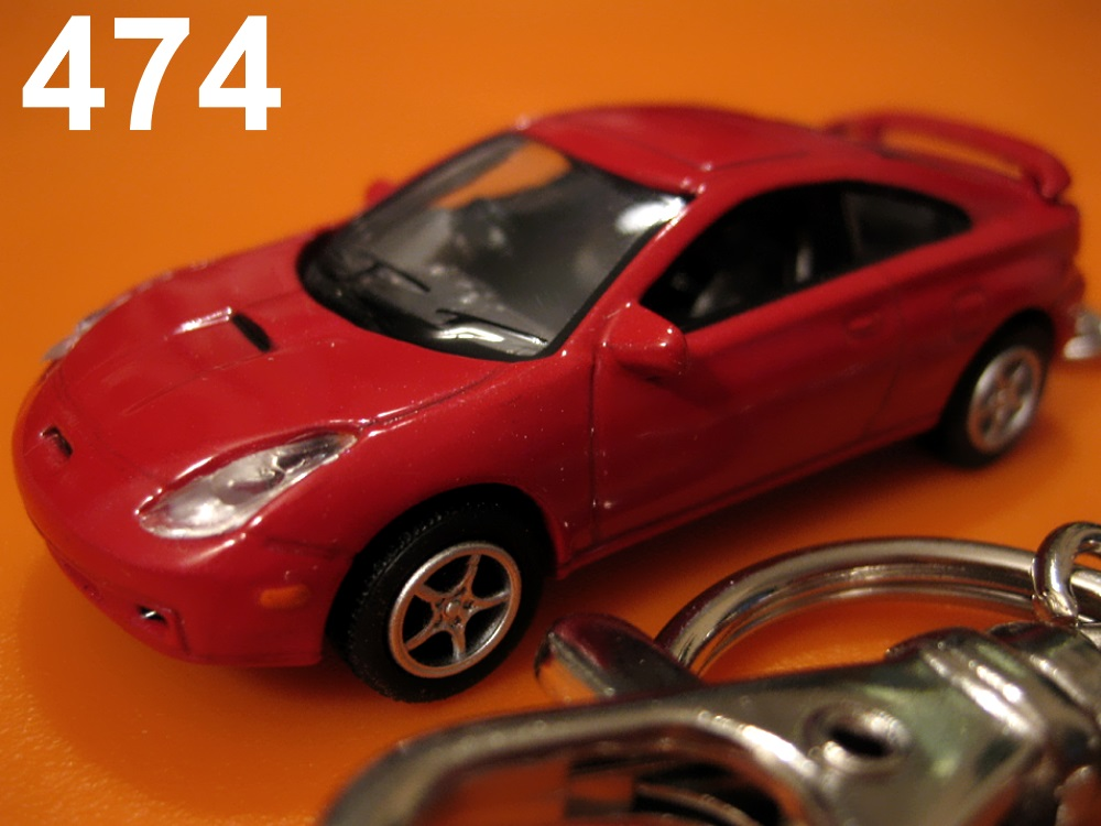 Toyota Celica GTS (Red) Die-cast Key Chain