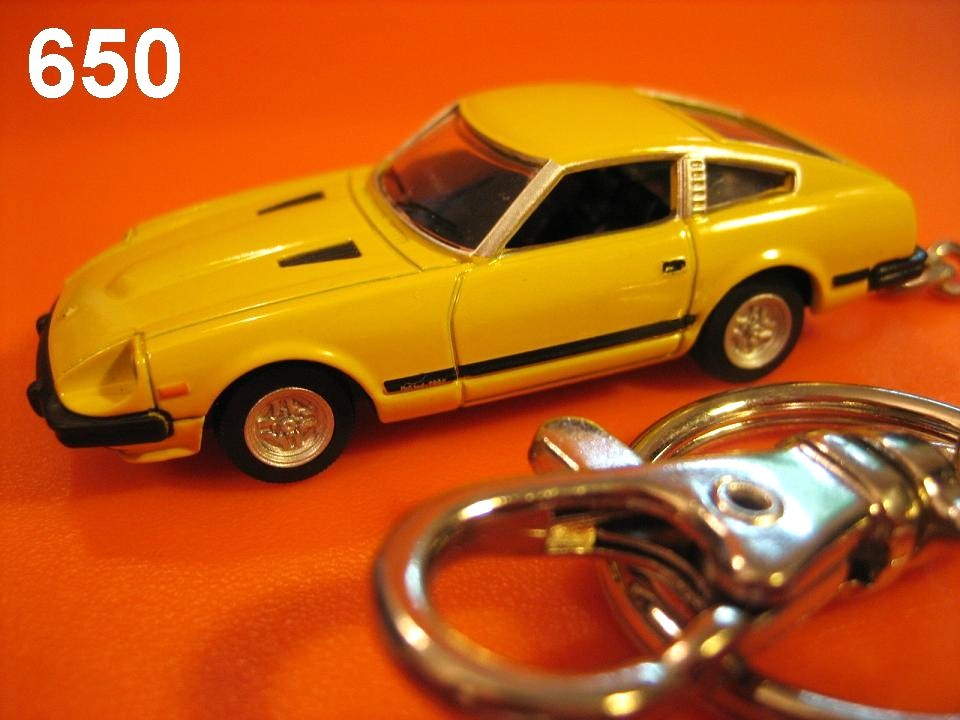 Nissan Fairlady 280Z-T (Yellow) Die-cast Key Chain