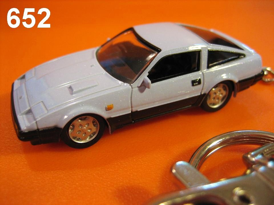 Nissan Fairlady Z 300ZX Z31 (Light Blue) Die-cast Key Chain