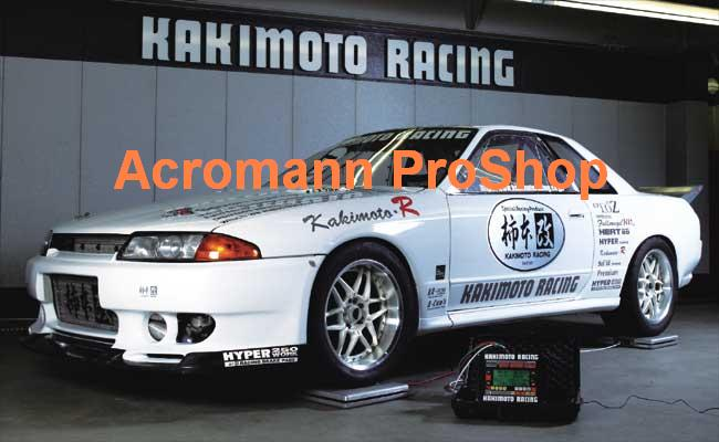 KAKIMOTO RACING Windshield Decal (Style#2)