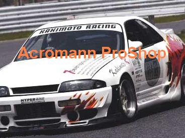 KAKIMOTO RACING Windshield Decal (Style#1)