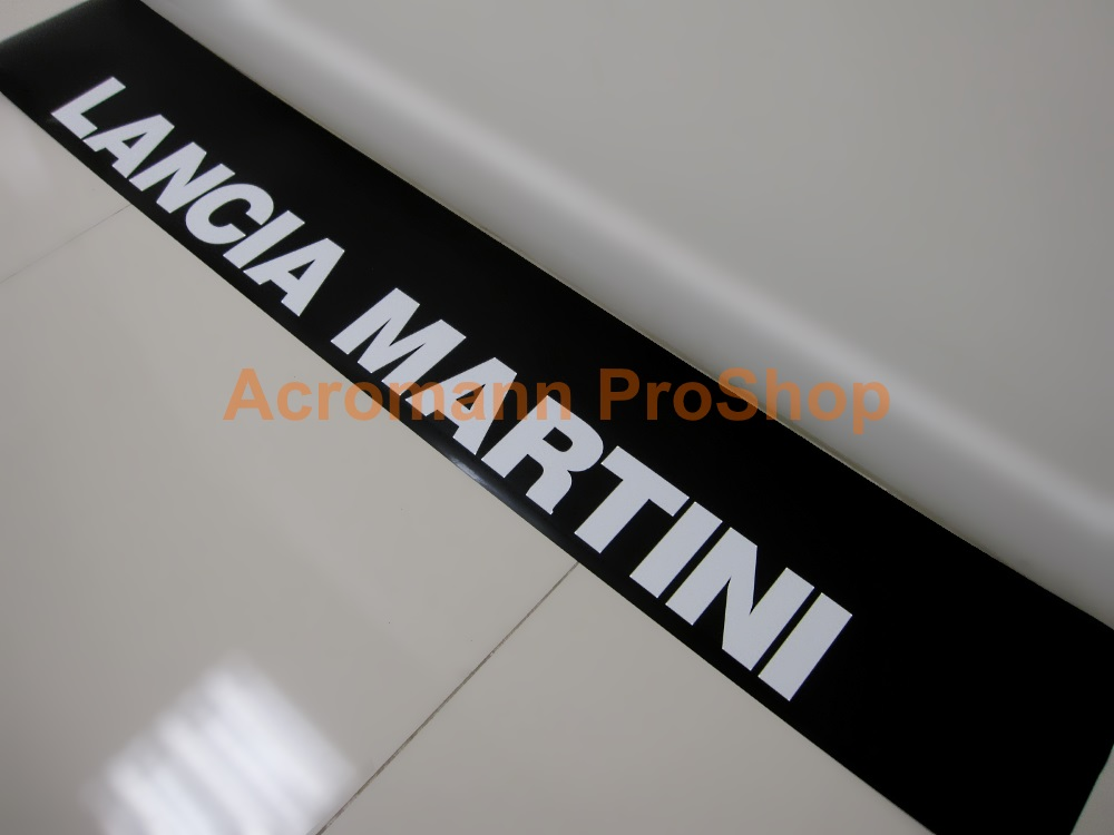 LANCIA MARTINI Windshield Decal (Style#2)