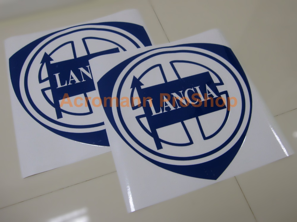 Lancia 3inch Decal x 2 pcs