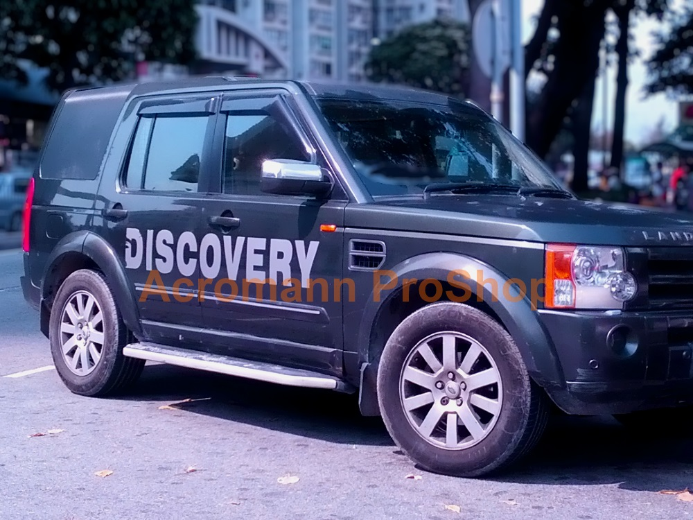 Land Rover Discovery Large Side Door Decal Style Pair