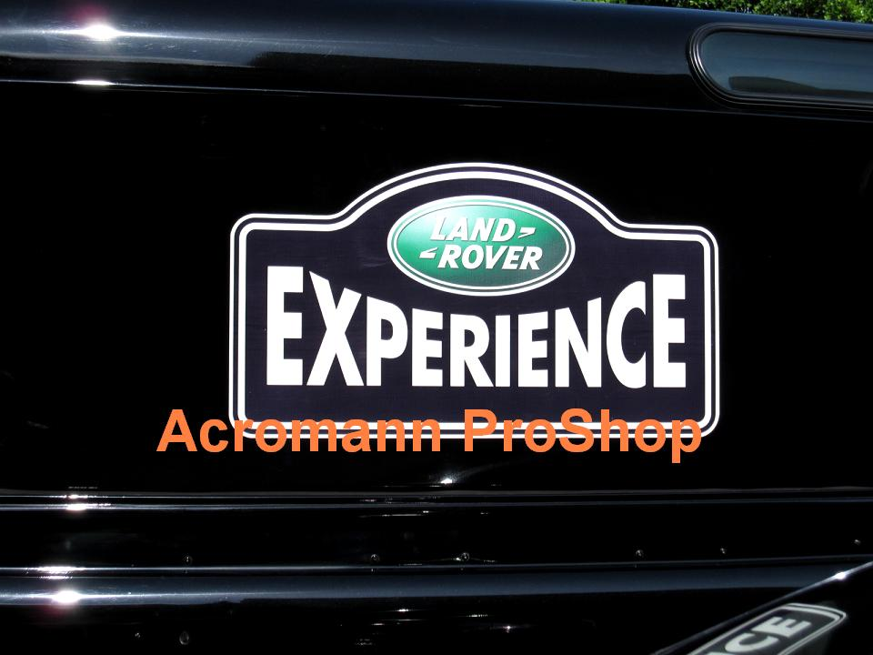 Land Rover EXPERIENCE Rear Window Decal x 2pcs