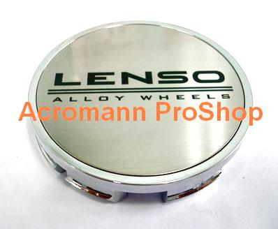 LENSO Alloy Wheels 2.2inch Wheel Cap Decal x 4 pcs