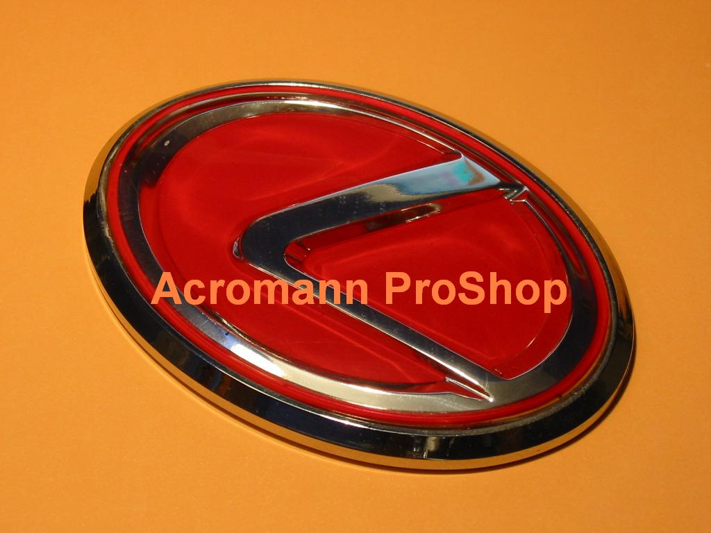 Lexus Red L Logo Emblem x 1 pc
