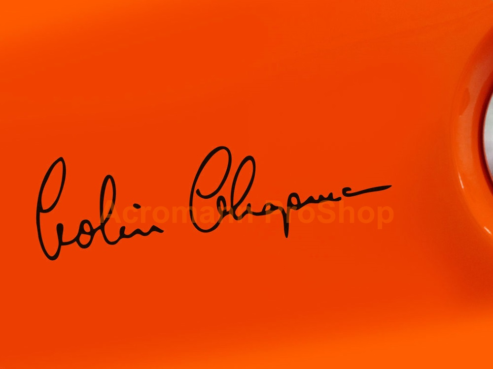 Colin Chapman Signature 6inch Decal (Style#1) x 2 pcs