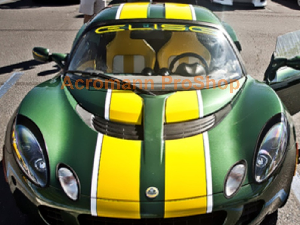 Lotus ELISE Windshield Decal (Style#1)