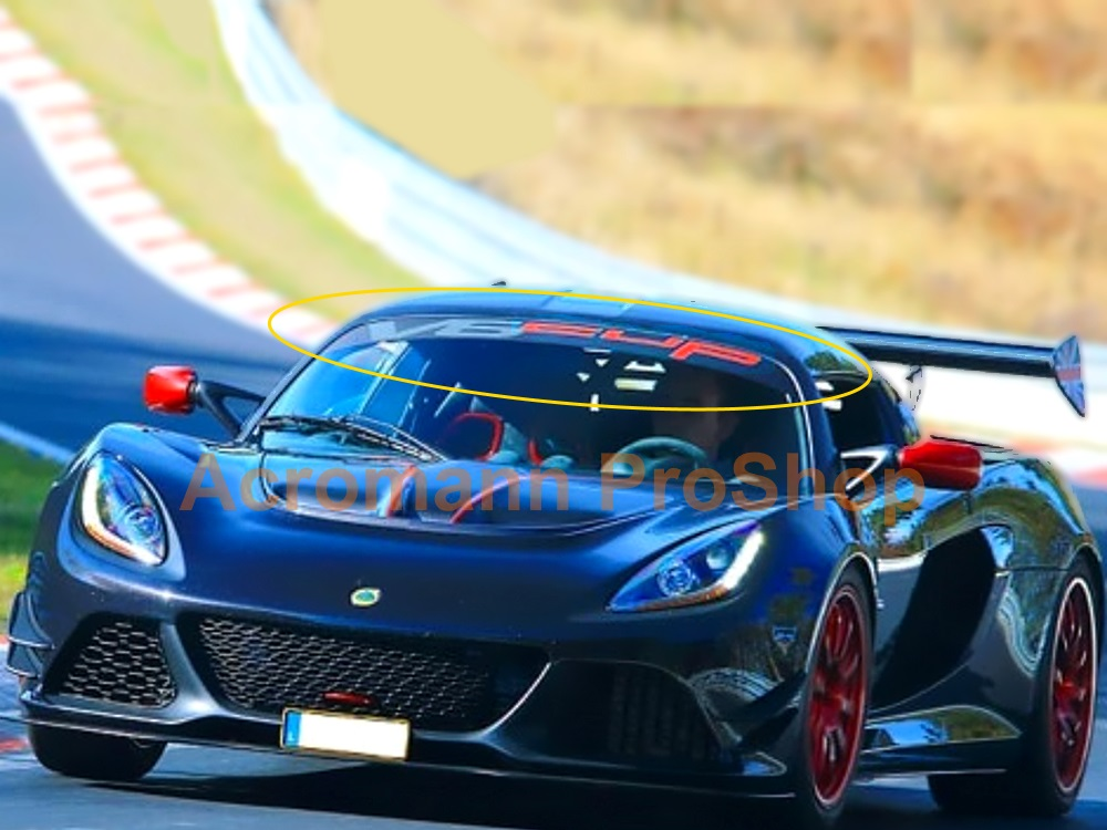 Lotus Exige V6 Cup Windshield Decal (Style#1)