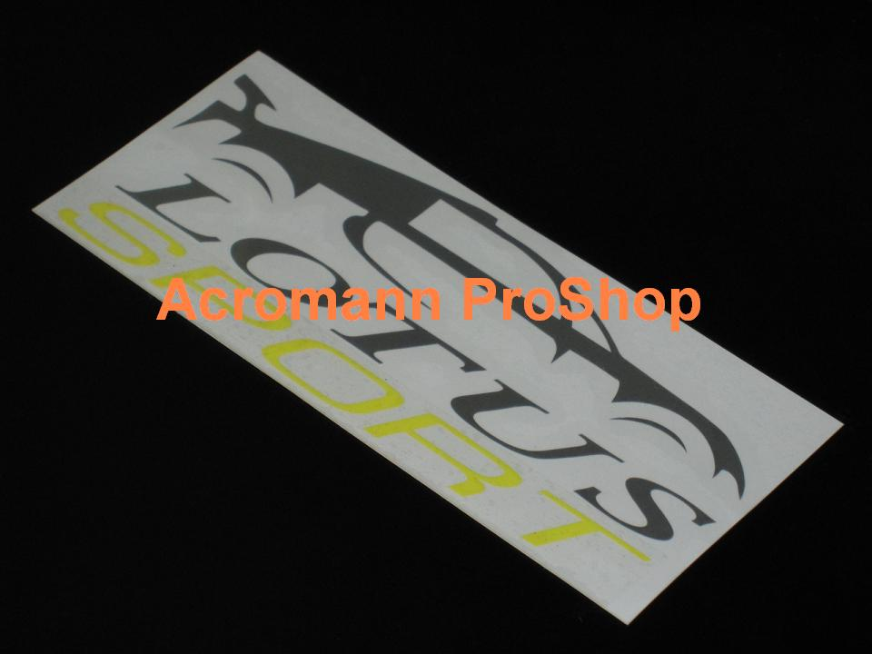 Lotus Sport 6inch Decal (Style#2) x 1 pair (2pcs)