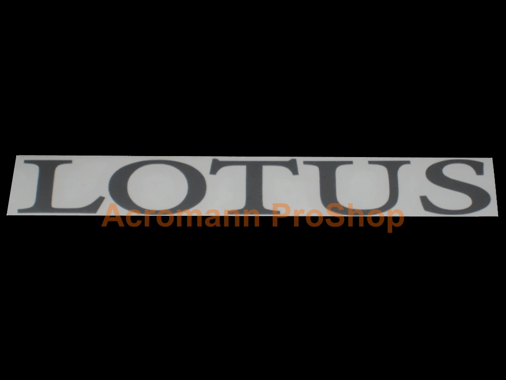 Lotus Windshield Decal (Style#5)